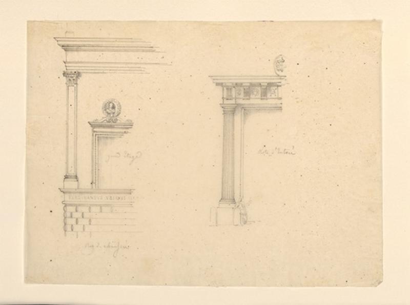 TURPIN DE CRISSE Lancelot Théodore Comte de : Entrée de temple