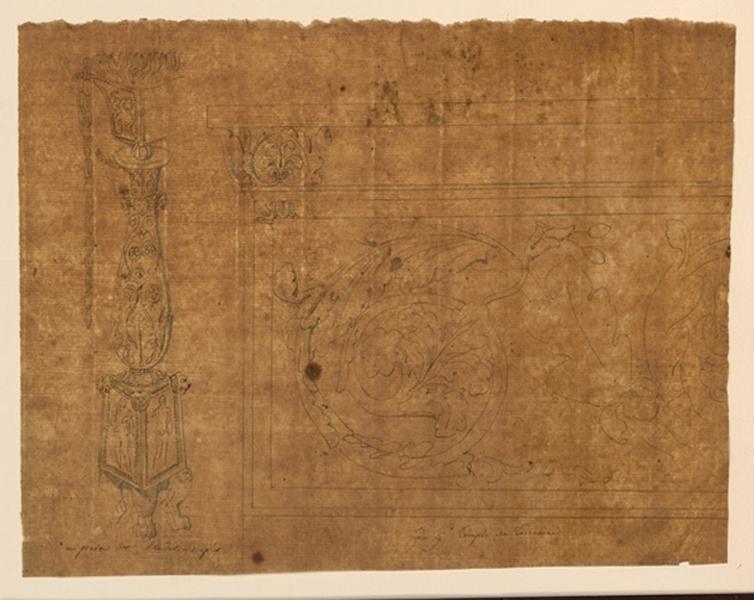 Candélabre et frise du temple de Terracine_0