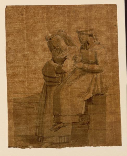 TURPIN DE CRISSE Lancelot Théodore Comte de : Deux napolitaines