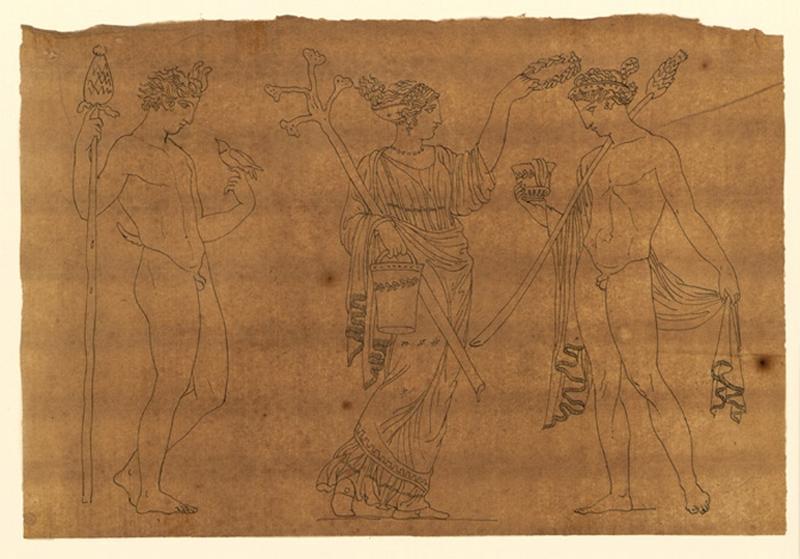 Consécration ; Scène mythologique_0