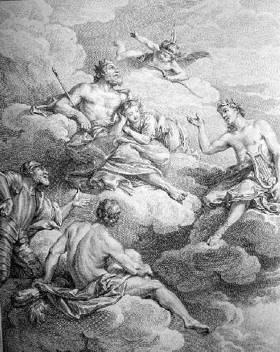 Les dieux voulant instruire un fils de Jupiter, XI, 2_0