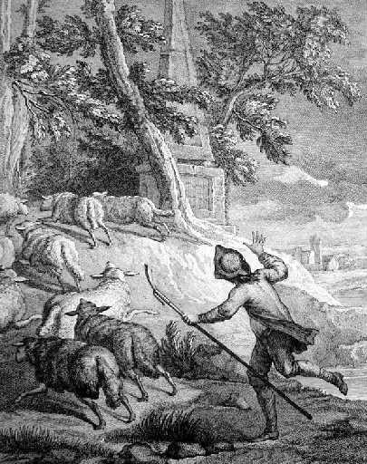 Le berger et son troupeau, IX, 19_0