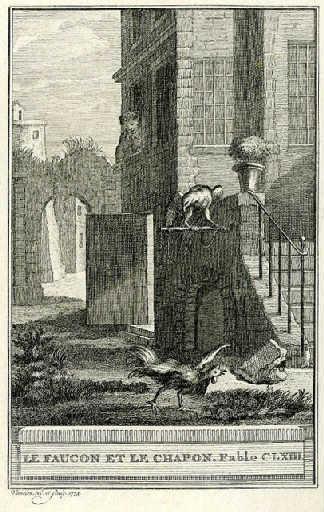Le faucon et le chapon, VIII, 21_0
