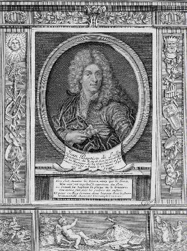 Jean Baptiste de Lully (Secrétaire du Roy Surintendant de la musique de sa Majesté, né à Florence (en 1632) et mort à Paris le 22 mars 1687, agé de 54 ans )_0