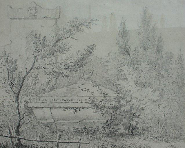 Tombeau de La Fontaine au Père Lachaise_0