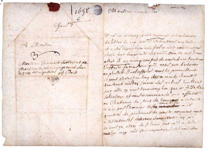 Lettre manuscrite autographe à l'oncle Jeannart_0