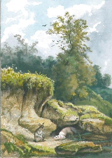 Le Chat, la Belette et le Petit Lapin, VII, 15_0