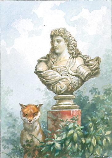 Le Renard et le Buste, IV, 14_0