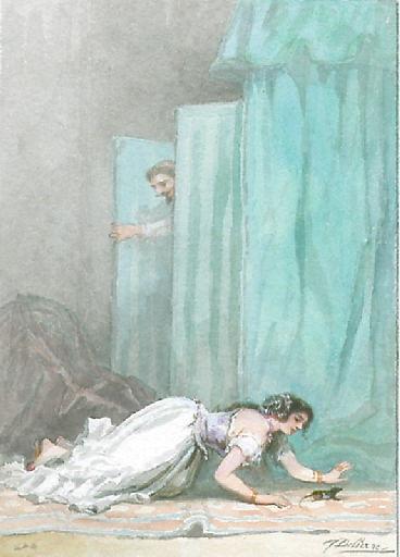 La Chatte métamorphosée en Femme, II, 18