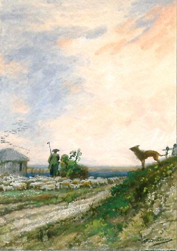 Le Berger et son troupeau, IX, 19