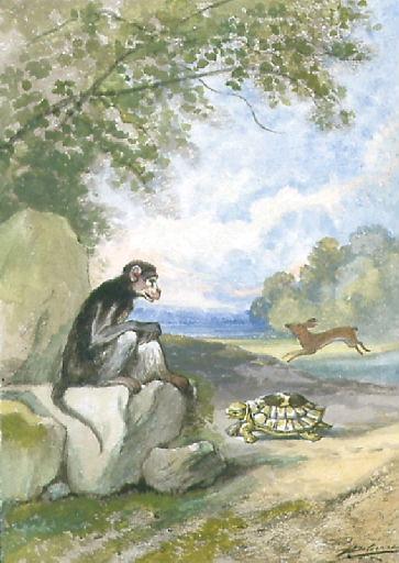 Le Lièvre et la Tortue, VI, 10_0