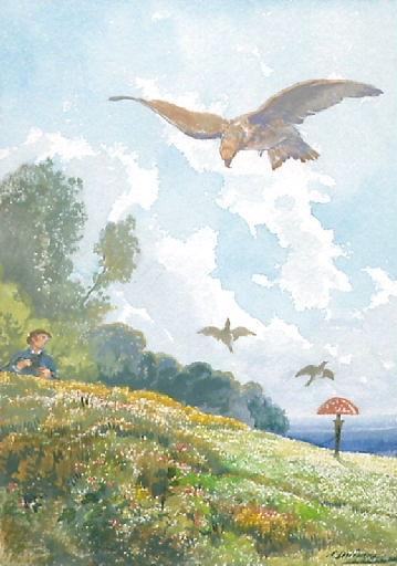 L'Oiseleur, l'Autour et l'Alouette, VI, 15_0