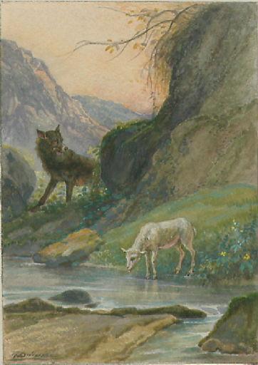 Le Loup et l'Agneau, I, 10_0