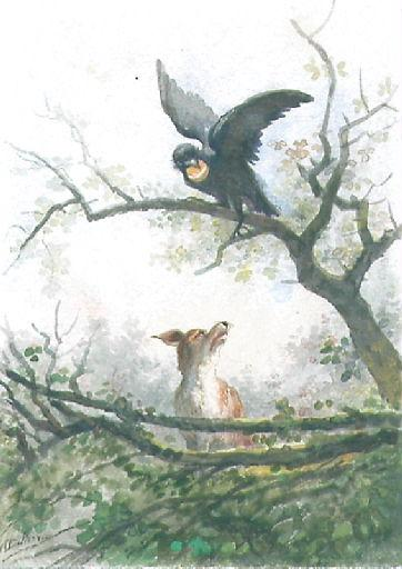 Le Corbeau et le Renard, I, 2_0