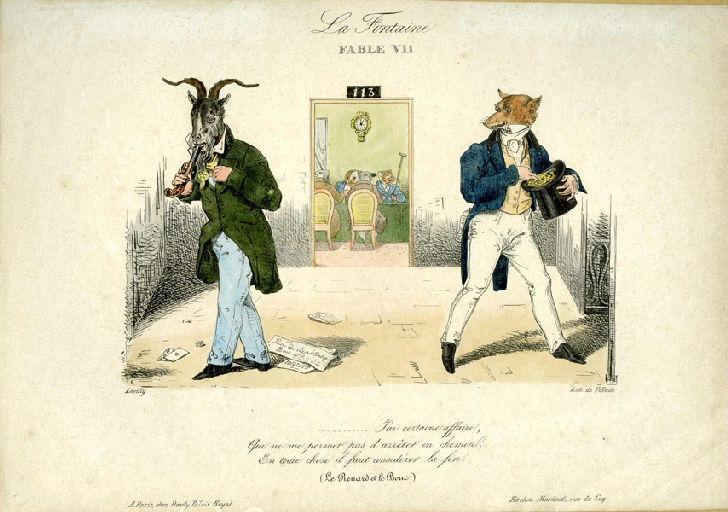Le Renard et le Bouc, III, 5