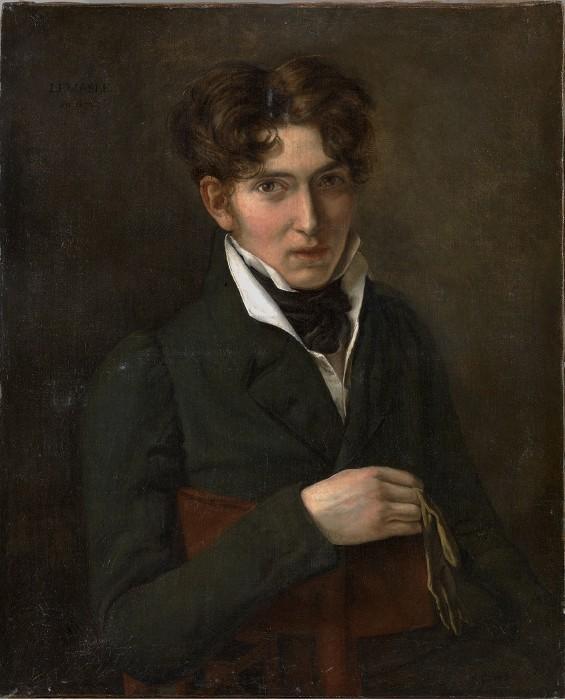 LEMASLE Louis Nicolas : Portrait d'homme au gant