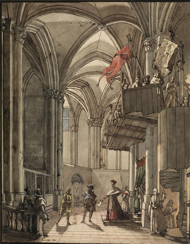 LEMASLE Louis Nicolas : Philippe II fait arrêter Don Carlos, son fils, par l'Inquisition