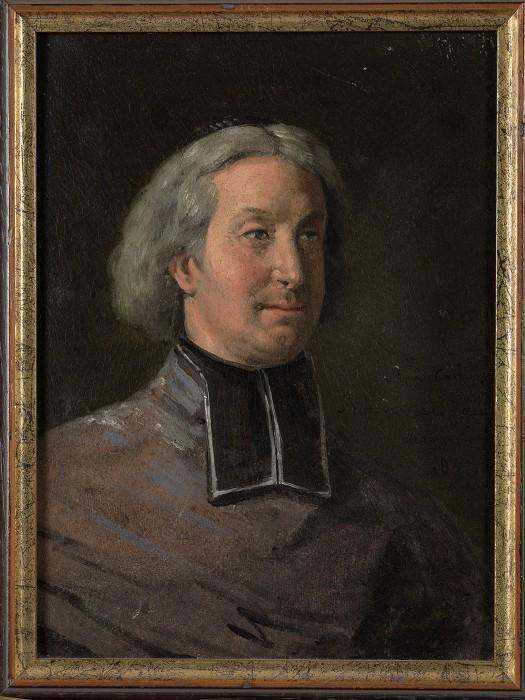LEMASLE Louis Nicolas : Portrait de Mgr de Quelen, en buste