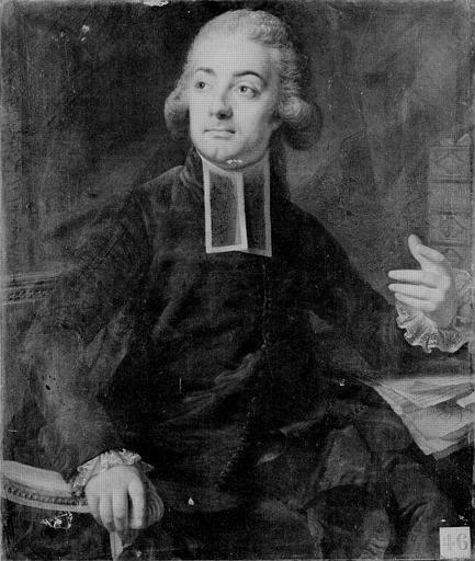 Portrait d'abbé administrateur de l'ordre de saint Vincent de Paul