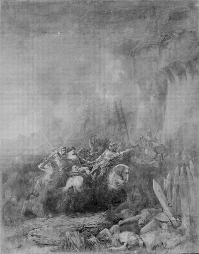 Capture de Jeanne d'Arc devant Compiègne