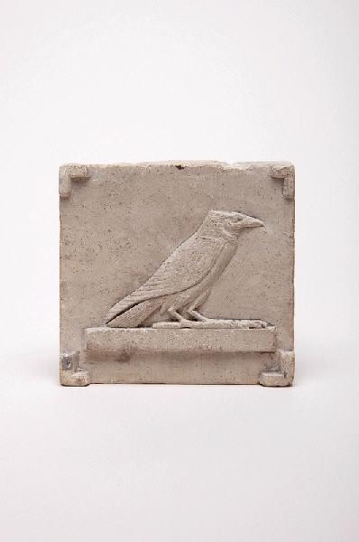modèle : modèle de relief pour un hiéroglyphe