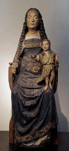 La Vierge assise et l'Enfant_0