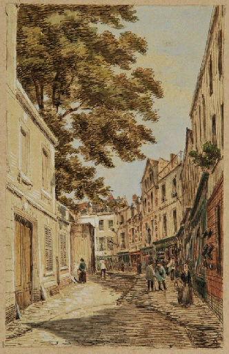 Amiens : la rue des Soeurs-Grises ; Amiens : rue des soeurs Grises