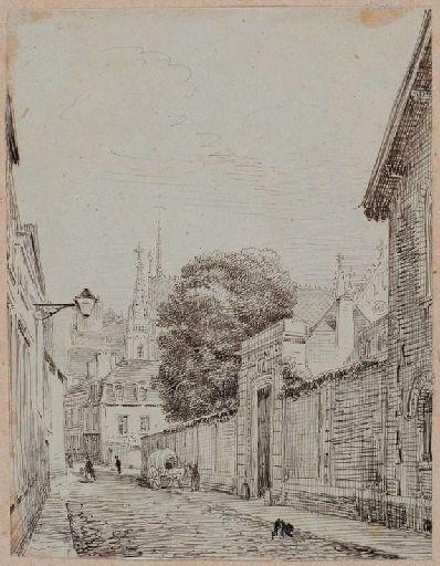 Amiens : rue Gloriette ; Amiens : maison. Rue Gloriette (n°18)_0