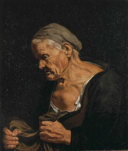 Buste de vieille femme_0