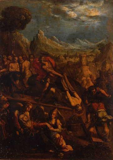 Le Dépouillement du Christ et la Vierge des Sept Douleurs