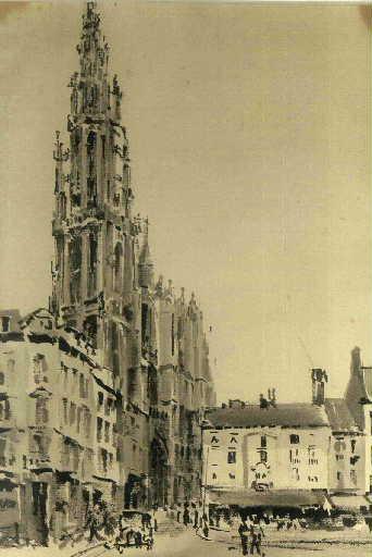 La cathédrale d'Anvers_0