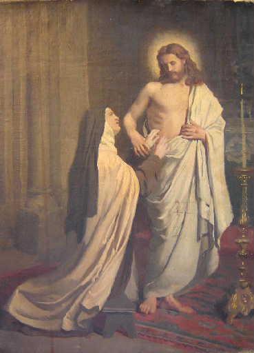 La vision de Sainte Thérèse d'Avila_0