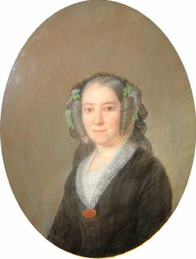 Portrait de Louise Masse de Combles, épouse Rougier de Joinville