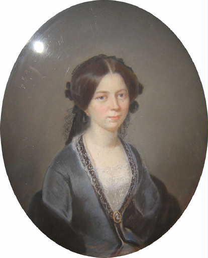 Portrait de Marie-Julie-Francine Rougier de Joinville, épouse Gonnet_0