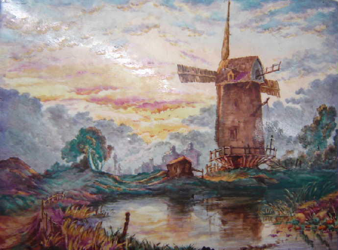 Moulin en Hollande_0