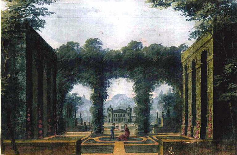 Terrasse au château de Versailles_0