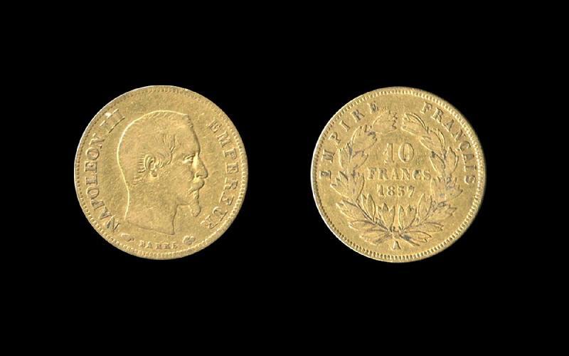 Napoléon III 10 francs or