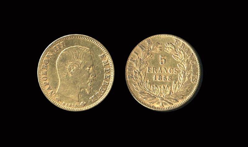 Napoléon III 5 francs or_0