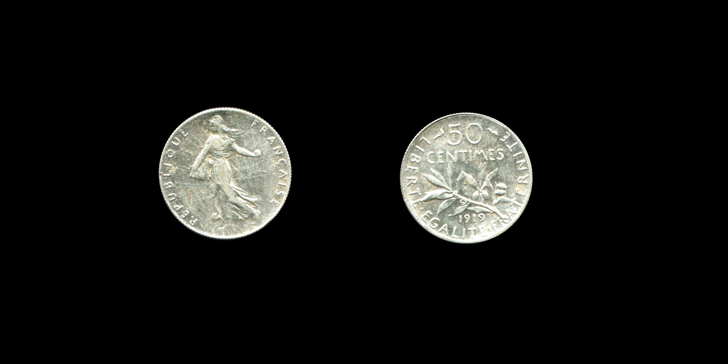 Troisième République 50 centimes type Semeuse_0