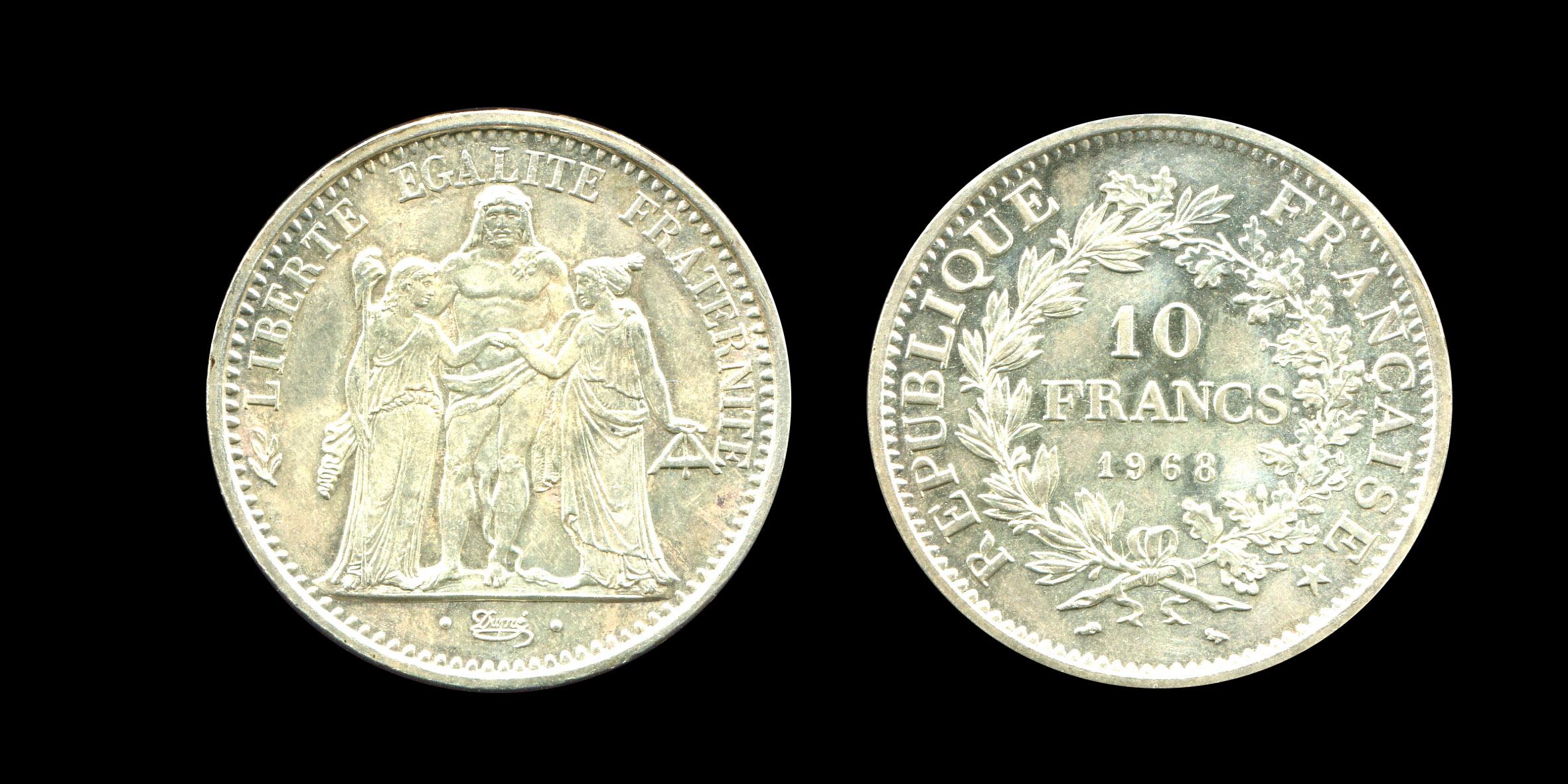 Troisième République dix francs type Hercule_0