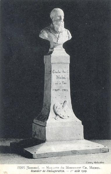 FOSSE Athanase (d'après) : Maquette du monument CH. Michel