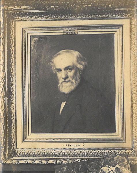 anonyme (photographe), DEHAUSSY Jules Jean-Baptiste (d'après) : Portrait de M. Henri Lefortier