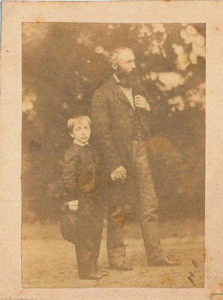 anonyme (photographe) : Charles-Henri et Auguste Michel