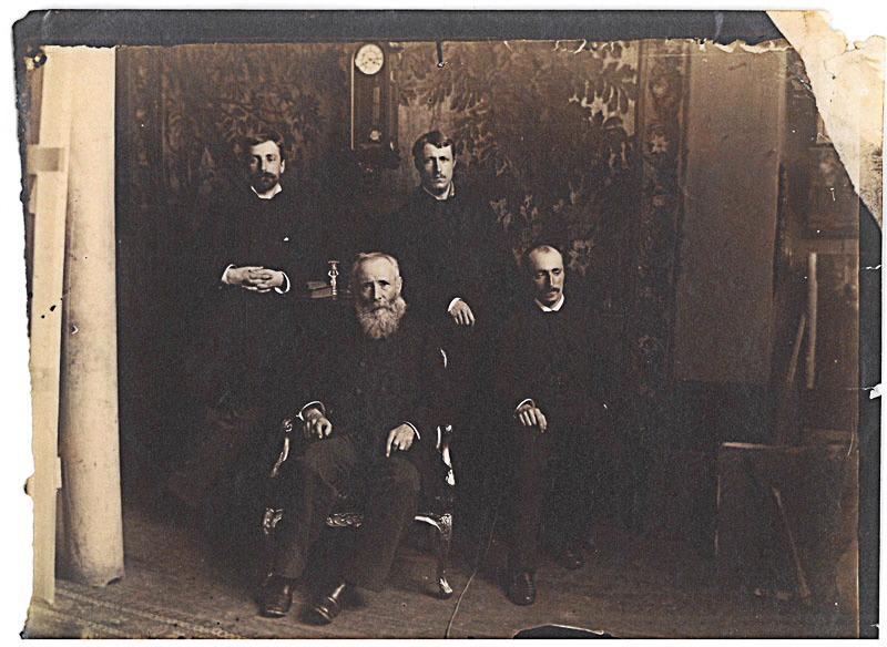 Charles-Henri Michel et ses fils_0