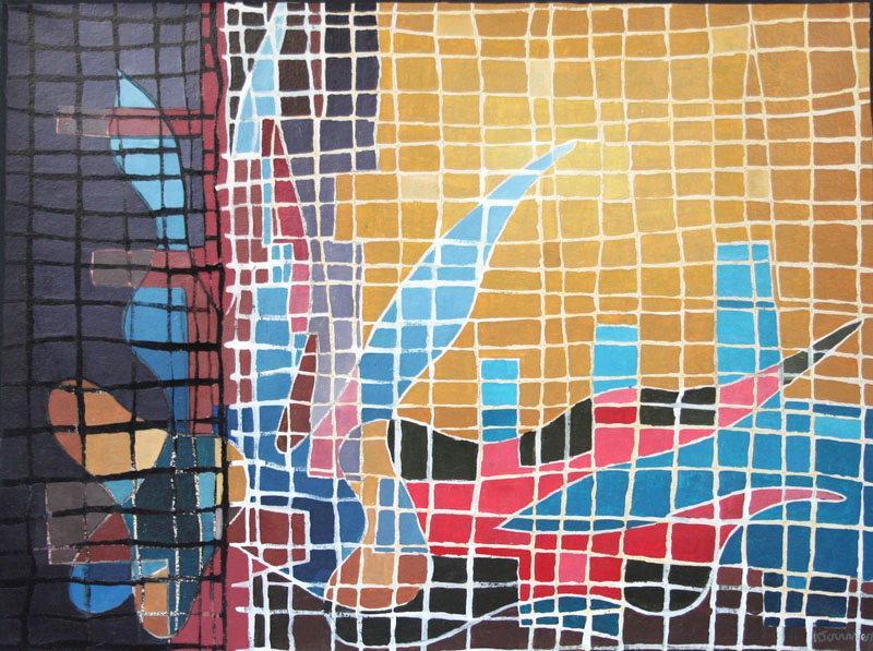 GONNET Antoine (peintre) : Mosaïque 1