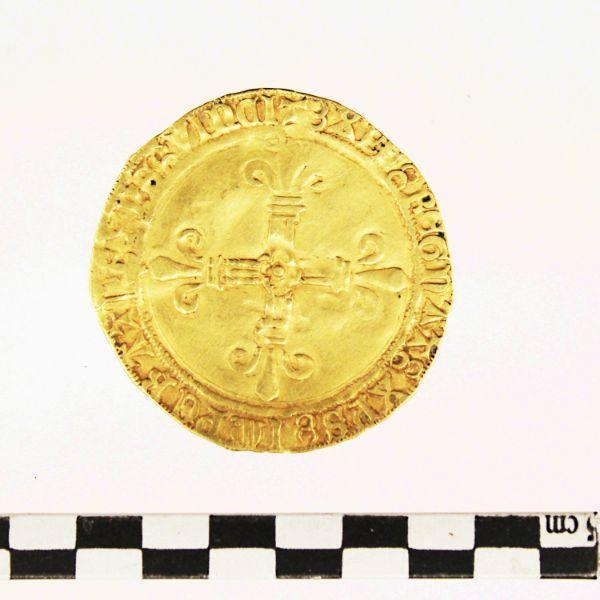 LOUIS XII (émetteur) : pièce de monnaie, écu