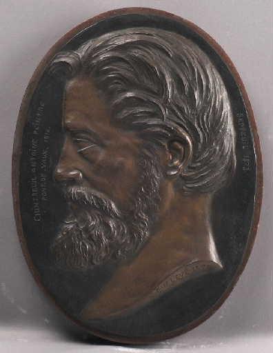 Portrait d'Antoine Chintreuil [Pont de Vaux 1814 - Septeuil 1873], peintre._0