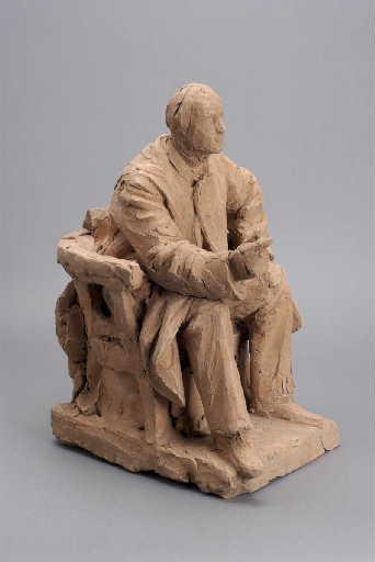 Esquisse pour le monument à Quinet de Bourg (Quinet assis)