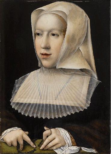 Portrait de Marguerite d'Autriche_0