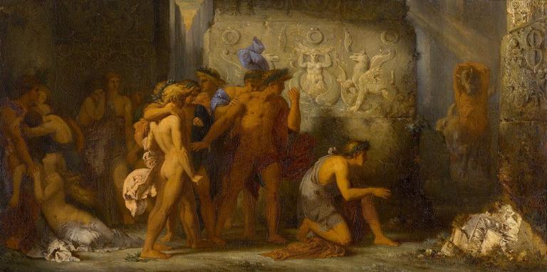 Les Athéniens livrés au Minotaure_0